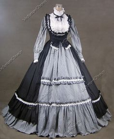 Victorian styled dress