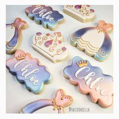 Princess Cookies  #princesscookies #crowncookies #princessbirthdayidea Crown Cookies, Sugar Cookies, Princess Cookies, Princess Birthday, Decorated Cookies, Every Girl, Cookie Decorating, Desserts, Instagram