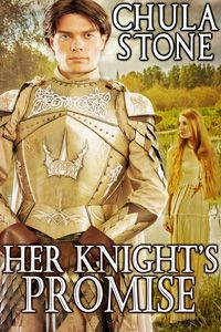 Her Knight's Promise by Chula Stone http://www.stormynightpublications.com/knights-promise-chula-stone/ This contains spankings of an adult woman, including domestic discipline in a historical setting. If such material offends you, please don't buy this book.