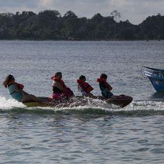 La estación seca en Panamá es la época de diversión en el mar. Hay diferentes maneras de divertirse en Bocas.