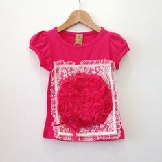 Mia Belle Baby Flower Frame Tee – Petite Étoile Children's Clothing Boutique in Salem, MA
