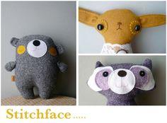 Cute fabric animals