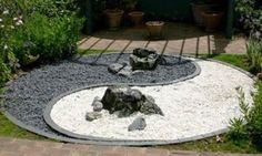 Back Yard Landscaping with Rocks | Rocks in Japanese Gardens, Buiding Rock Garden, Backyard Designs