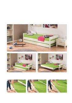 Ausziehbett FLOYD Gästezimmer / Schlafgäste im Kinderzimmer Ikea, Shelving, Bookcase, Room, Furniture, Home Decor, Mini, Inspiration, Cool Furniture