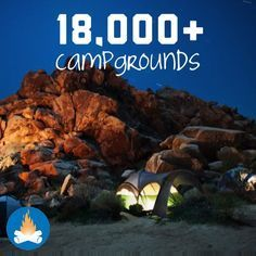 We're up to 18,000+ Campgrounds and RV Parks online… search away for amenities & tons of other great specifics! Find your perfect camping or RVing spot :)