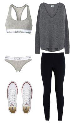 """Untitled #71"" by mayaali on Polyvore featuring Calvin Klein, Calvin Klein Underwear, NIKE and Converse"
