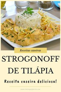 Tilapia Recipes, Salmon Recipes, Fish Recipes, Seafood Recipes, Breakfast Lunch Dinner, Dessert For Dinner, Easy Cooking, Cooking Recipes, Healthy Recipes