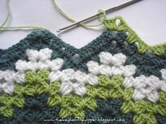 .love ripple blankets #crochet
