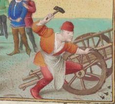 1° « Les Croniques que OROSIUS compila... »; 2° « Les anciennes Histoires des Romains » Date d'édition : 1401-1500 Français 64 Folio 57v