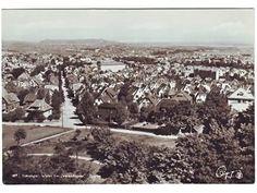 STAVANGER. Utsikt fra Vålandspiba, 1950-talet.