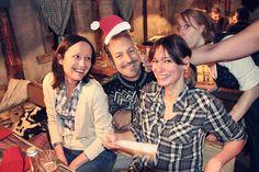 Ganz schön zünftig ging's auf der Hüttengaudi-Weihnachtsfeier der KRAFTJUNGS her