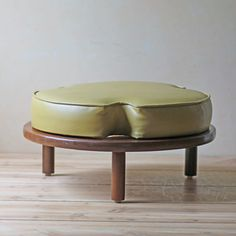 Footstool Olive now featured on Fab.