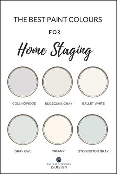The 8 Best Light NEUTRAL Paint Colours for Home Staging, Selling Whether you're staging your home fo