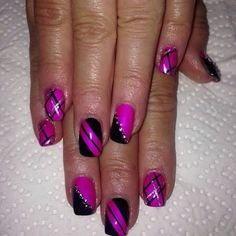 Pin by Carleen Welch on Simple nail designs Pretty Nail Designs, Best Nail Art Designs, Pretty Nail Art, Colorful Nail Designs, Toe Nail Designs, Simple Nail Designs, Cool Nail Art, Manicure, Gel Nails