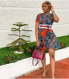 50 Pictures - Stunning Ankara Fashion Dresses We Are Currently Vibing With 34 Ankara Dress Styles, Latest Ankara Styles, Ankara Gowns, Female Pictures, Fashion Pictures, African Fashion Dresses, Skirt Fashion, Two Piece Skirt Set, Lady