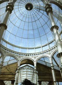Syon House - The Great Conservatory  Charles Fowler, builder  inspired Paxton's Crystal Palace