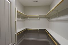 Custom closet #storage #organization