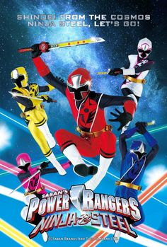 Ninja Steel Promo Poster (Fanedit) by AkiraTheFighter24 on @DeviantArt