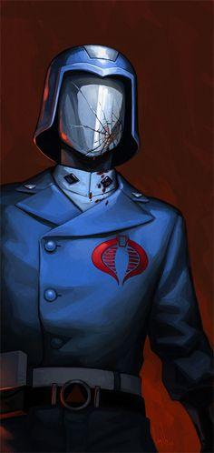 Cobra Commander by hellcorpceo.deviantart.com on @deviantART