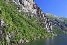 """Geirangerfjord - die """"Sieben Schwestern"""""""