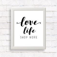 Love Life  by SkylaDesign #love #life #quoteoftheday #quote #printable #print…
