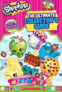 This handbook is the essential guide for every Shopkins collector! Learn about Apple Blossom, Strawberry Kiss, Cheeky Chocolate, and their friends. This book contains all the Shopkins from seasons 1 and 2, including rare and limited editions.