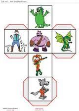 Resultado de imagem para story cubes printable