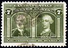 CANADA 1908 Scott# 100 USED - http://stamps.goshoppins.com/canadian-stamps/canada-1908-scott-100-used/