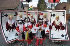 carnaval loopgroep 6 personen kaarten