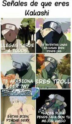 Kakashi Hatake, Naruto Sharingan, Naruto Vs Sasuke, Naruto Uzumaki Shippuden, Naruto Cute, Naruto Funny, Sasunaru, Anime Meme, Otaku Anime