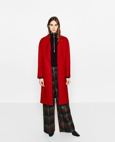 Image 1 of COAT WITH POCKETS from Zara