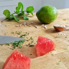 Make an easy summer watermelon sunflower body scrub - what's the deal with watermelon? Well, for starters, watermelon contains a whole lot of....big surprise - water! Water is obviously fantastic for skin, being hydrating and important for maintaining skin flexibility, but watermelon has a lot of other benefits to offer our skin this summer. Get the recipe here.