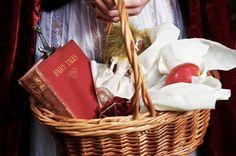 Little Red Riding Hood's #basket.