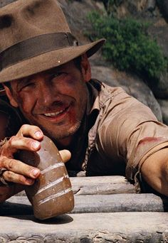 """talent-only: """" Harrison Ford Indiana Jones and the Temple of Doom Henry Jones Jr, Harrison Ford Indiana Jones, Indiana Jones Films, Movie Stars, Movie Tv, 80s Movies, Indie Movies, Divas, Steven Spielberg"""