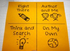 Ladybug's Teacher Files: QARs and Printing on Sticky Notes