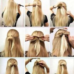 hairstyles for girls step by step - Google Search
