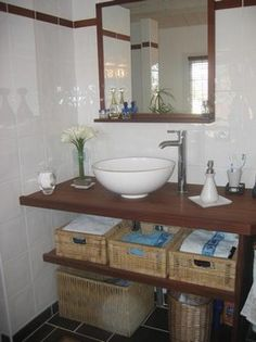 Salle de bain on pinterest plan de travail bathroom and for Plan bois salle de bain