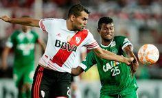 Blog Esportivo do Suíço: Chapecoense faz gol histórico, mas não resiste ao River Plate