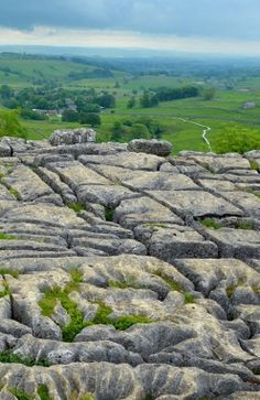 Yorkshire Dales Limestone, Yorkshire, UK