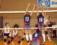 player volleyball