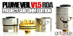 Project Sub-ohm Plume Veil v1.5 $119.99   GOTSMOK.COM