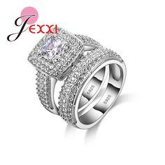 925 Sterling Silver Rings Set For Girls