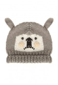 Knitted Bear Hat