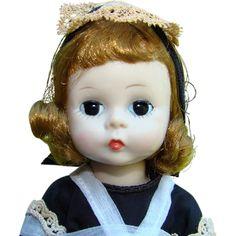 Rare C1956 Alexander-kins Doll Parlour Maid 579 BKW Madame Alexander