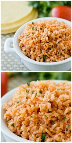 Recreate Restaurant-Style Mexican Rice at home following this fool-proof method which starts with fresh vegetables and ends with fluffy grains every time. | Culinary Hill