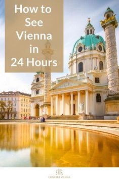 Want to travel to Vienna but don't have much time? Visit the #ConcertVienna blog to discover how to visit Vienna, Austria in the quickest way possible without missing a single thing. #Vienna #Austria #Travel #TravelTips #Traveling #TravelGuide #Wanderlust #Europe #Culture