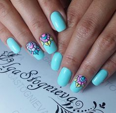 Bright summer nails ideas