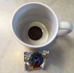 Want to make your coffee into a special sweet treat? Put a piece of chocolate in the mug before you pour your coffee in. | 14 Things All Coffee Lovers Have To Try