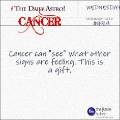 Cancer Daily Astro!: Have you seen your Cancer horoscope for today yet??  Visit iFate.com now!