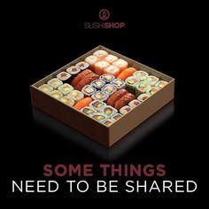 Zeigt jemandem eure Liebe und verwöhnt ihn oder sie mit einer köstlichen Box for Two! Denn so eine Box zu zweit zu leeren, macht gleich doppelt so viel Freude ;-)  Einfach bestellen und nach Hause liefern lassen unter www.mysushishop.de/de/livraison-boxes-zu-teilen  #SushiShopValentinesWeek